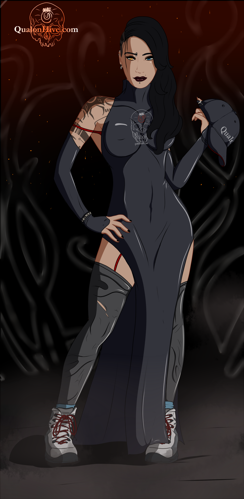 Myra : QualonHive Dress