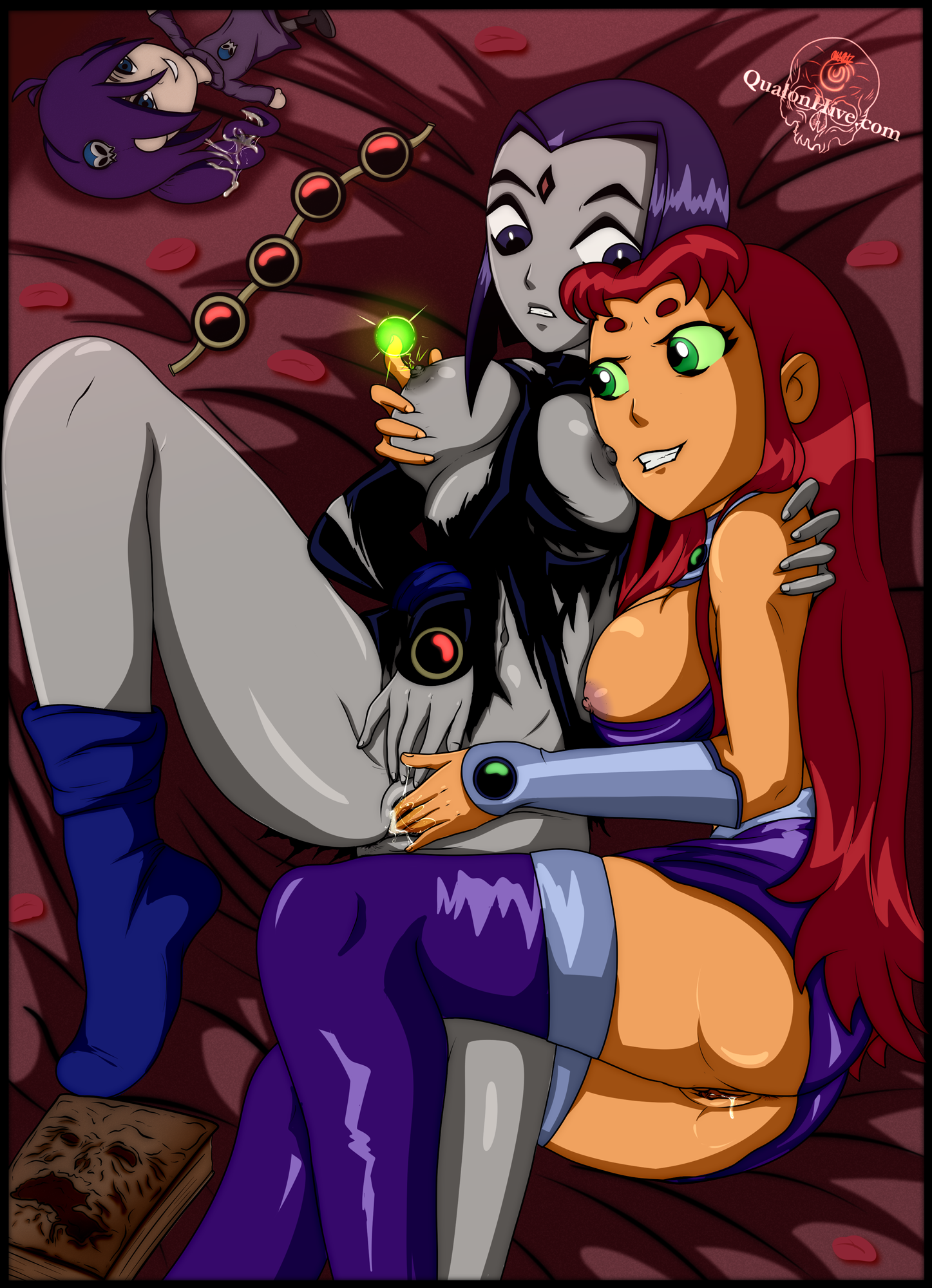 Teen Titans : Starfire & Raven